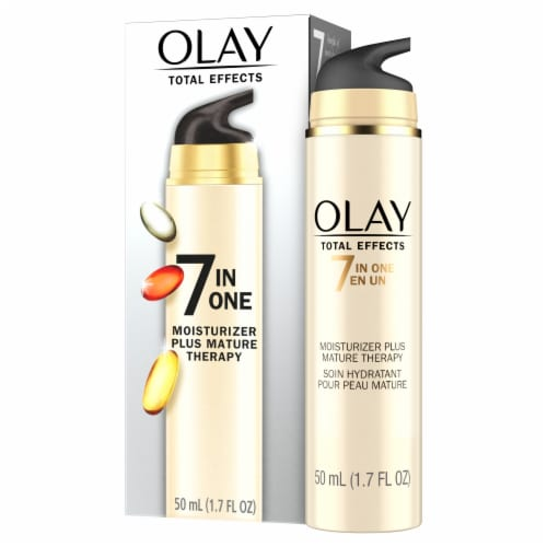 Olay Total Effects 7-In-1 Mature Therapy Anti-Aging Face Moisturizer Perspective: front