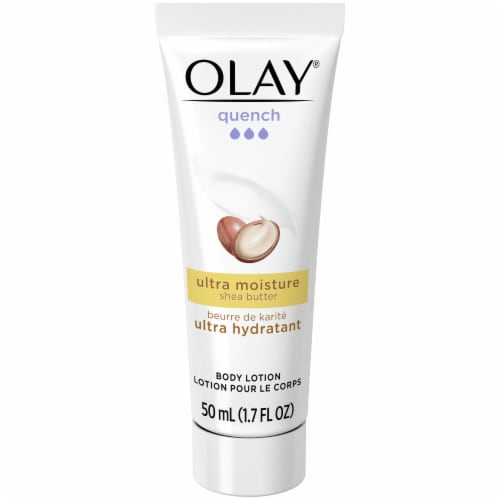 Olay Ultra Moisturizing Shea Butter Body Lotion Perspective: front