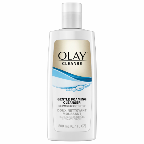 Olay Gentle Clean Foaming Cleanser Perspective: front