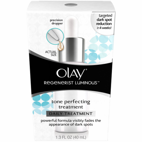 Olay Regenerist Luminous Tone Perfecting Daily Treatment Perspective: front