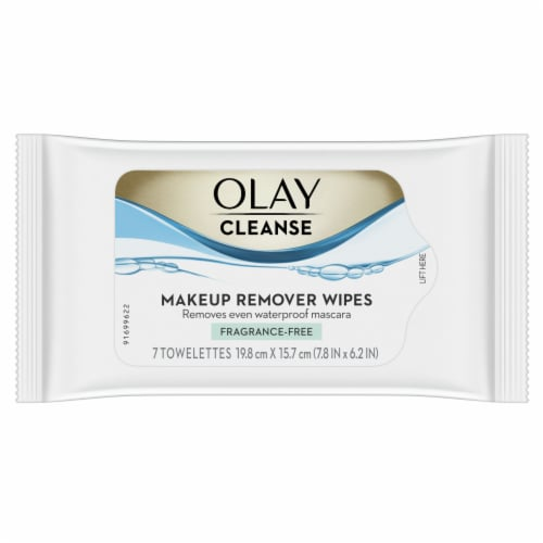 Olay Make Up Remover Wipes Perspective: front