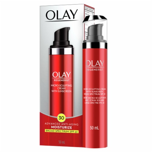 Olay Regenerist Micro-Sculpting Face Cream SPF 30 Perspective: front