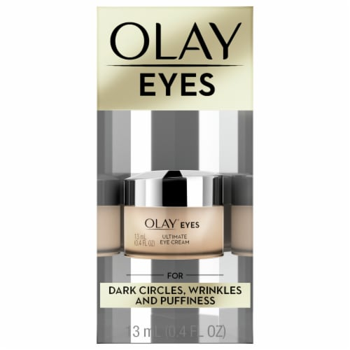 Olay Ultimate Eye Cream for Wrinkles Puffy Eyes + Dark Circles Perspective: front
