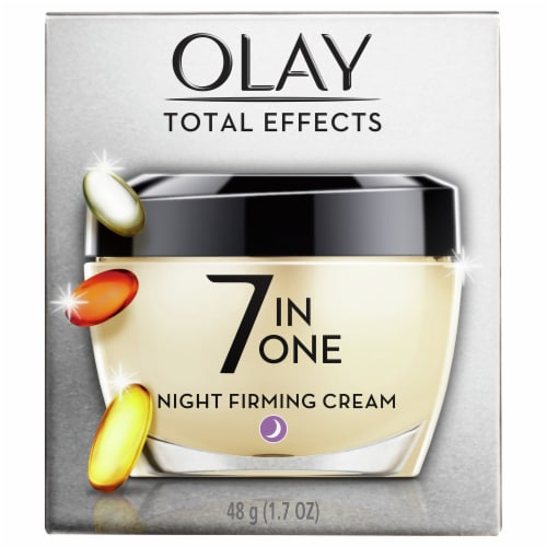 Olay Total Effects Anti-Aging Night Firming Face Cream Perspective: front