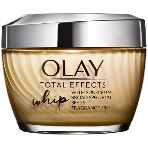 Olay Total Effects Whip Fragrance Free Active Moisturizer with SPF 25 Perspective: front