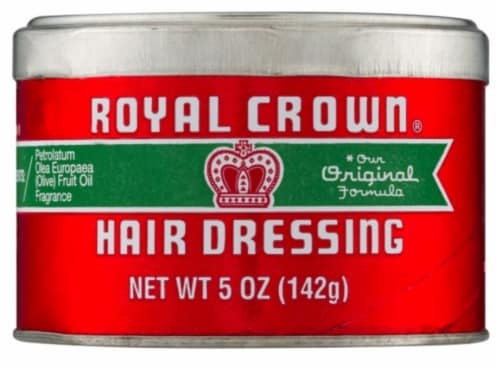 Royal Crown Hair Dressing Perspective: front