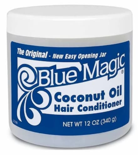 Blue Magic Coconut Oil Hair Conditioner Perspective: front