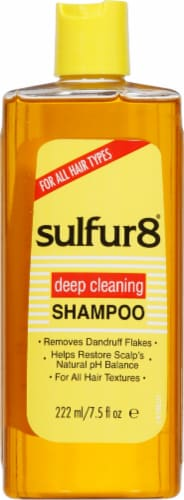 Sulfur8 Medicated Shampoo Perspective: front