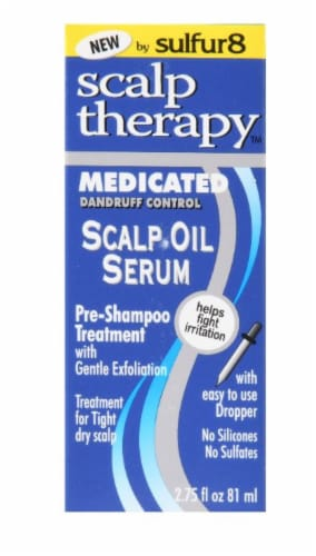 sulfur8 Scalp Therapy Oil Serum Perspective: front