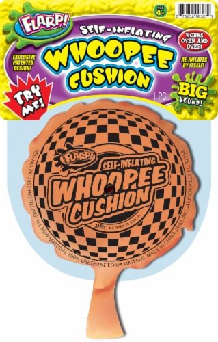 Flarp! Self-Inflating Whoopee Cushion Perspective: front