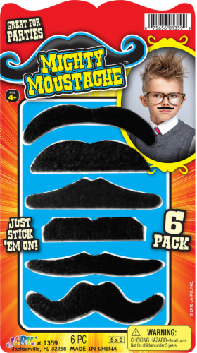 JA-RU Mighty Mustache Set Perspective: front