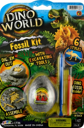 JA-RU Dino World Fossil Kit Perspective: front