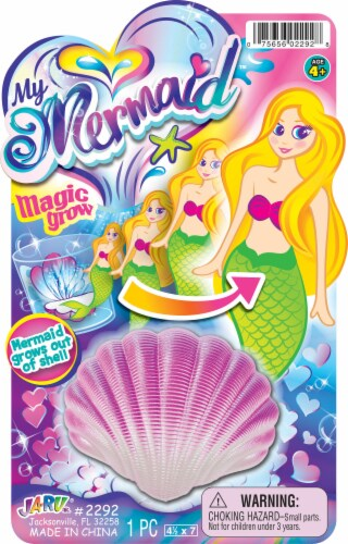 JA-RU My Magic Grow Mermaid - Assorted Perspective: front