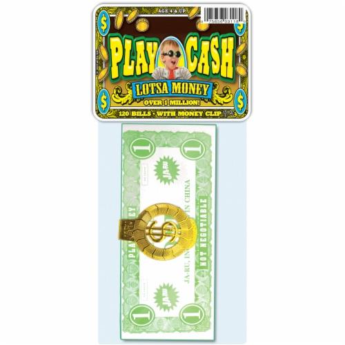 JA-RU Lotsa Money Play Cash Bills Perspective: front