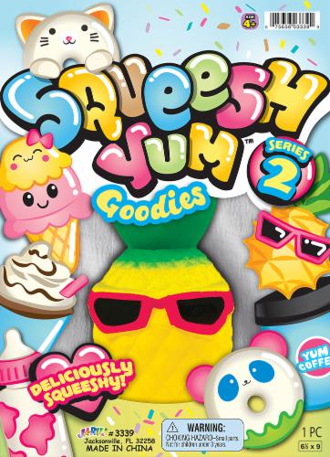 JA-RU Squeesh Yum Goodies Series 2 Toy Perspective: front