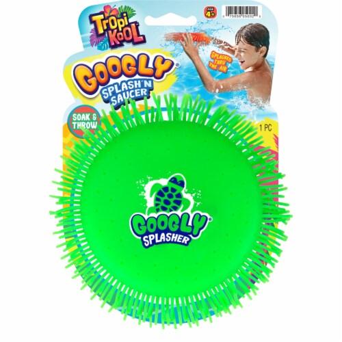 JA-RU TropiKool Googly Splash'n Saucer Perspective: front