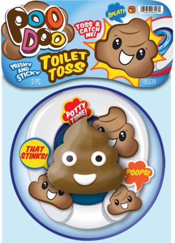 JA-RU Poo Doo Toilet Toss Perspective: front