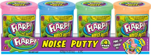 JA-RU Flarp! Noise Putty - 4 Pack Perspective: front