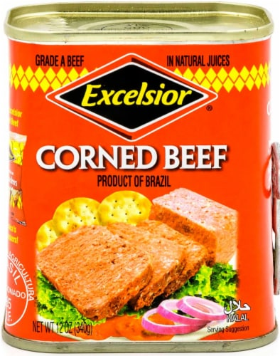 Excelsior® Corned Beef Perspective: front