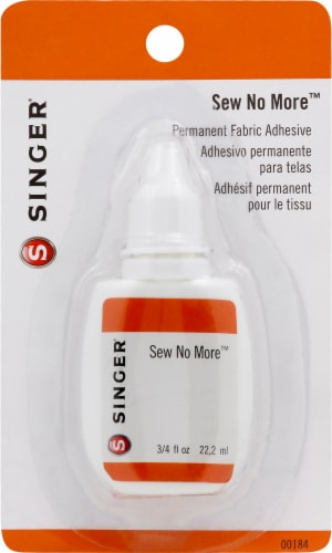 SINGER Sew No More™ Permanent Fabric Adhesive Perspective: front