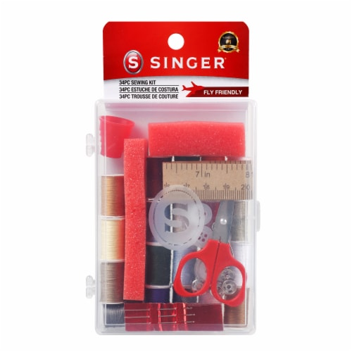 SINGER Deluxe Polyester Sewing Kit Perspective: front