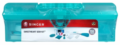 Singer Sweetheart Sewing Kit- Perspective: front