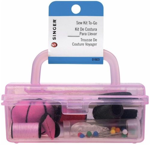 Singer Sew Cute Tool Box Sewing Kit- Perspective: front