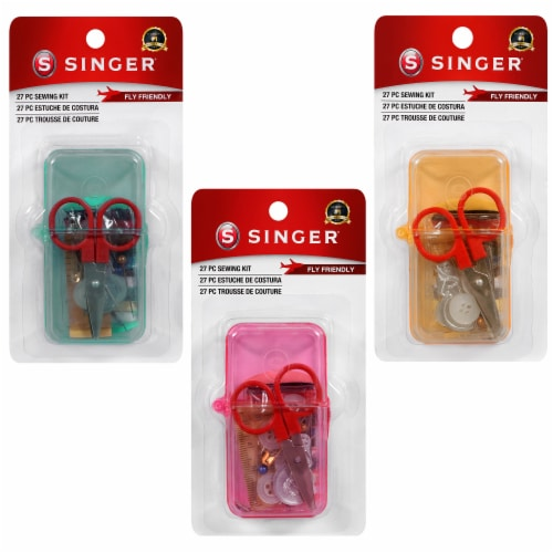 SINGER Travel Sewing Kit - Assorted Perspective: front