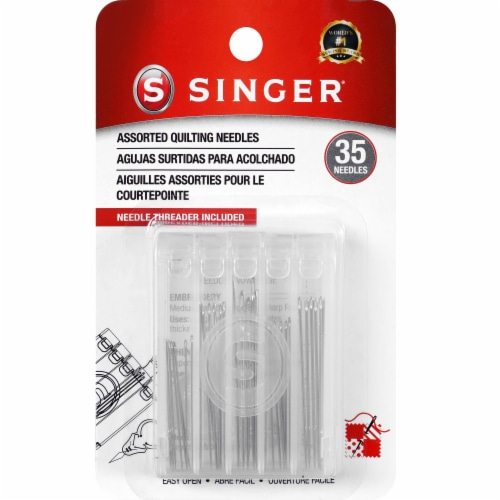 SINGER Assorted Quilting Needles Perspective: front