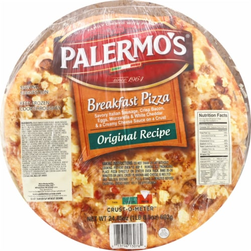 Palermo's Breakfast Pizza Perspective: front