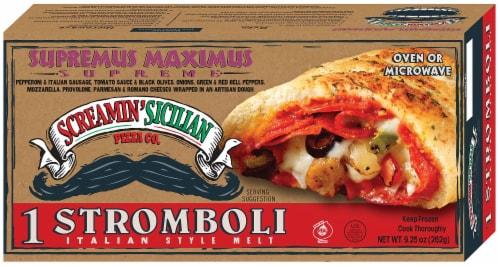 Screamin' Sicilian Supremus Maximus Stromboli Perspective: front