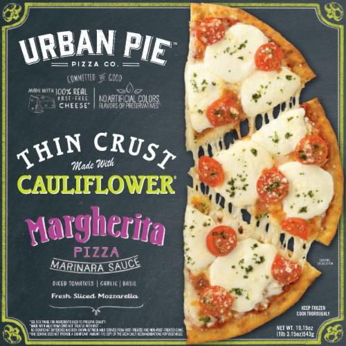 Urban Pie Pizza Co.™ Thin Cauliflower Crust Margherita Pizza Perspective: front