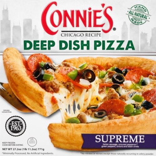 Connie's® Supreme Deep Dish Frozen Pizza Perspective: front