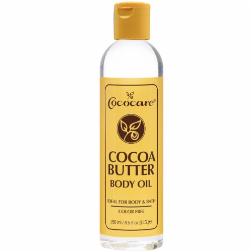 Cococare Cocoa Butter Body Oil Perspective: front
