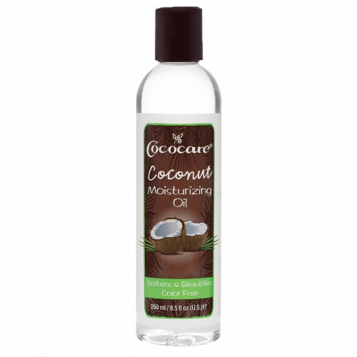 Cococare Coconut Moisturizing Oil Perspective: front