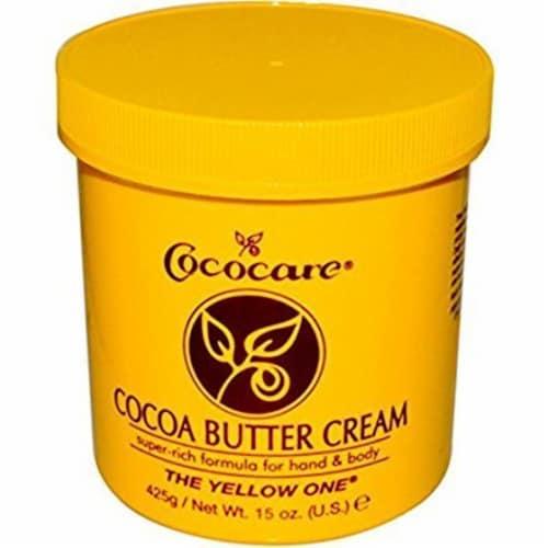 Cococare Cocoa Butter Cream - 15 oz Perspective: front