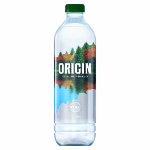 Poland Spring Origin Natural Spring Water Perspective: front