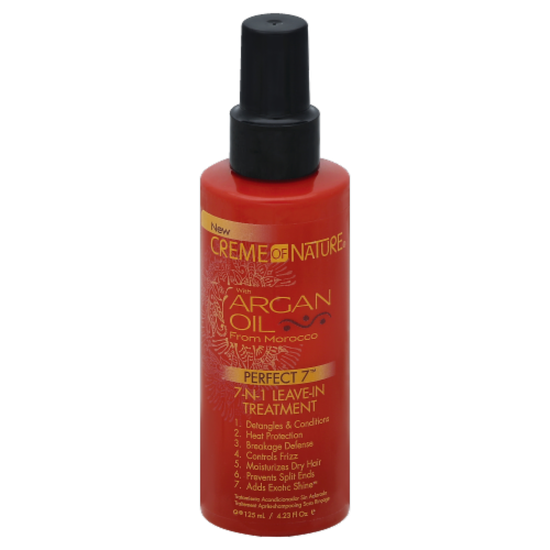 Creme of Nature with Argan Oil from Morocco 7-n-1 Leave-in Treatment Perspective: front