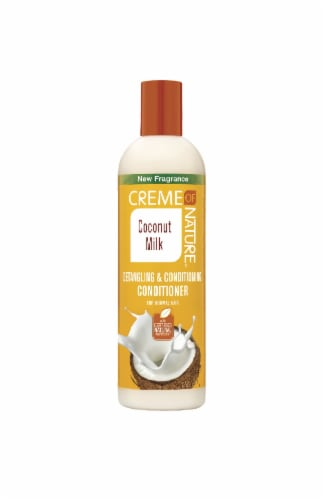 Creme of Nature Coconut Milk Detangling & Conditioning Conditioner Perspective: front