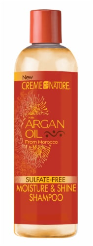 Creme of Nature with Argan Oil From Morocco Moisture & Shine Shampoo Perspective: front