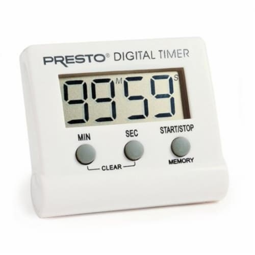 Presto 04213 Electronic Digital Timer Perspective: front