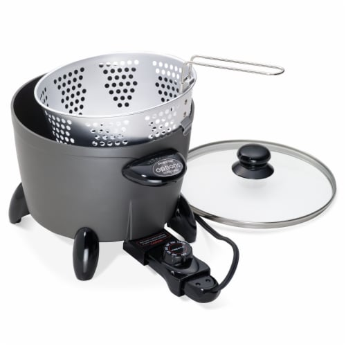 Presto Electric Multi-Cooker Perspective: front