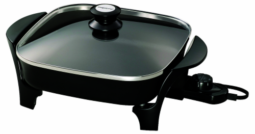 Presto® Covered Electric Skillet - Black Perspective: front