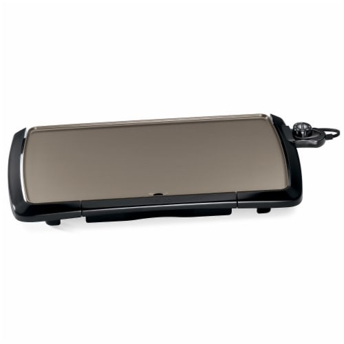 Presto Cool-Touch Electric Ceramic Griddle Perspective: front