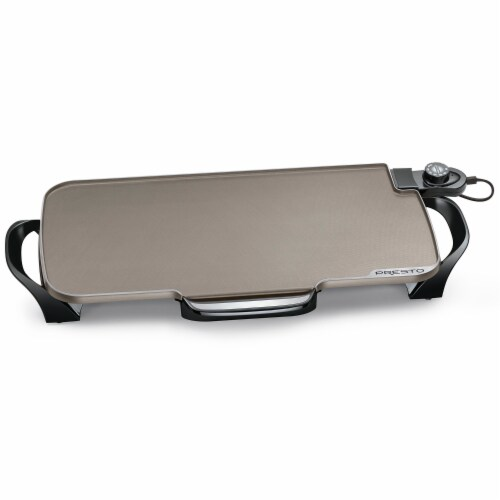 Presto® Electric Griddle Perspective: front