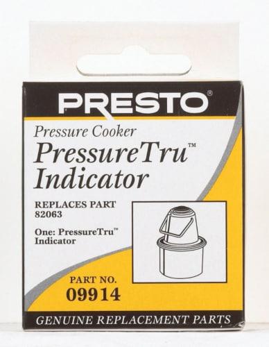 Presto PressureTru Stainless Steel Pressure Cooker Indicator 6 qt. - Case Of: 1; Perspective: front