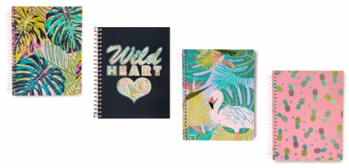 Top Flight Uptown Girl College Rule Journal - 140 Sheets - Assorted Perspective: front