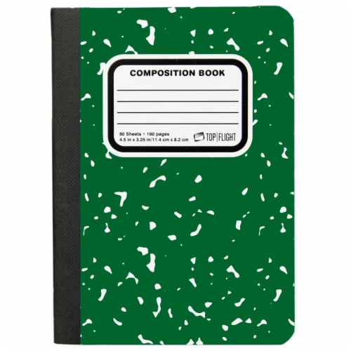 Top Flight Mini Composition Book - 80 Sheets - Assorted Perspective: front