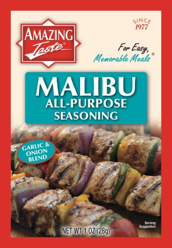 Amazing Taste Malibu All-Purpose Seasoning Perspective: front