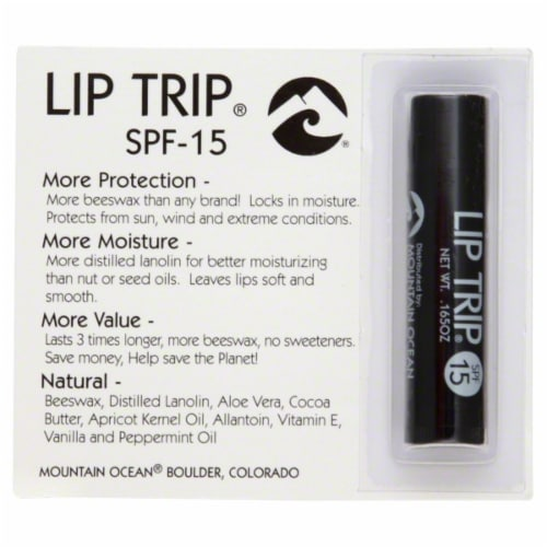 Lip Trip Lip Balm SPF 15 Perspective: front